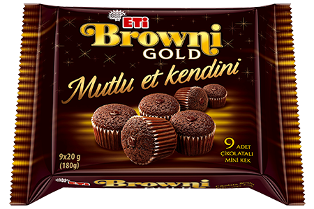 Eti Browni Gold Mini İkramlık Kek