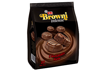Eti Browni Intense Chocolate Coated Cream Filled Serving Cake