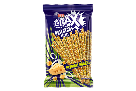 Eti Crax Flavor Bomb Cheese Onion Stick Craker