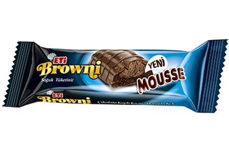 Eti Browni Mousse Chocolate Coated Cream Filled Cake