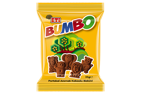 Eti Bumbo Cocoa Biscuit with Orange Flavoured