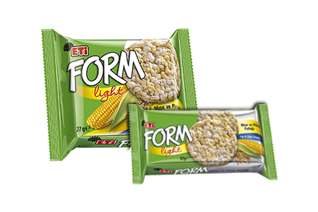 Eti Form Popcorn & Rice Crisp Light Product