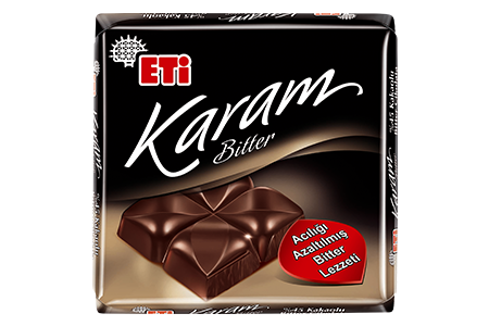 Eti Karam %45 Cocoa  with Bitter Chocolate
