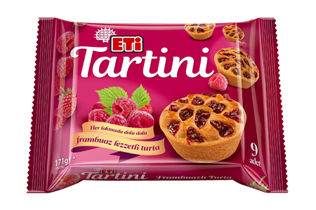Eti Tartini Tart with Raspberry