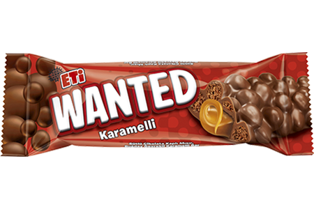 Eti Wanted With Caramel