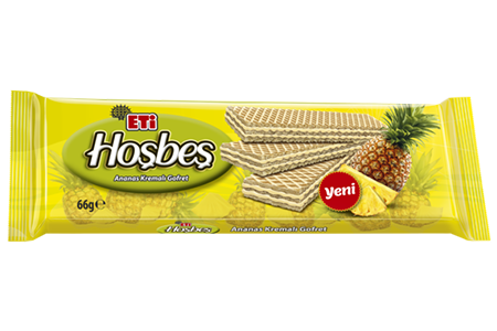 Eti Hoşbeş Wafer With Pineapple Cream