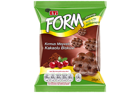 Eti Form Cacao and Blueberry Light Product