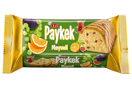 Eti Paykek with Fruits Serving Cake