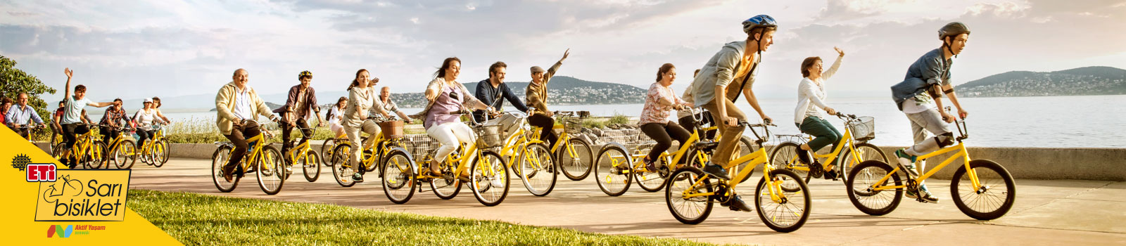 Eti Yellow Bicycle