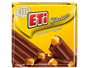 Eti Çikolata Milk Chocolate with Caramel Filling