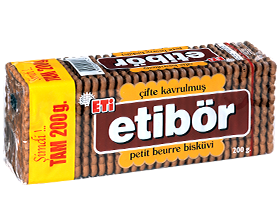 Etibör Double Roasted Petit Beurre Biscuit