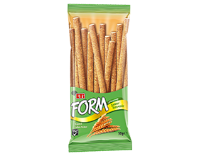 Form Stick Crackers with Bran