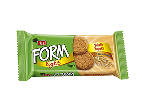 Form Biscuit with Oatmeal and Bran